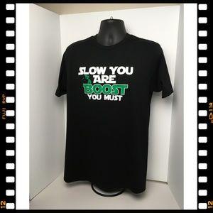 Lane Seven Shirts - T-Shirt~Yoda~Automotive~Turbo~Slow~Boost~You~Must~